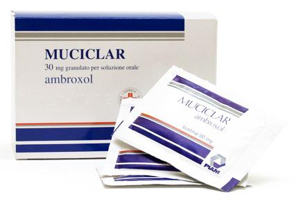 Muciclar 30 Mg Granulato Per Soluzione Orale 30 Bustine