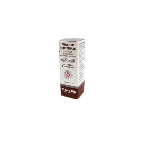 Argento Proteinato 2% Gocce Nasali, Soluzione Flacone 10 Ml