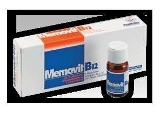 Memovit B12 Sciroppo 6 Flaconcini Con Tappo Dosatore