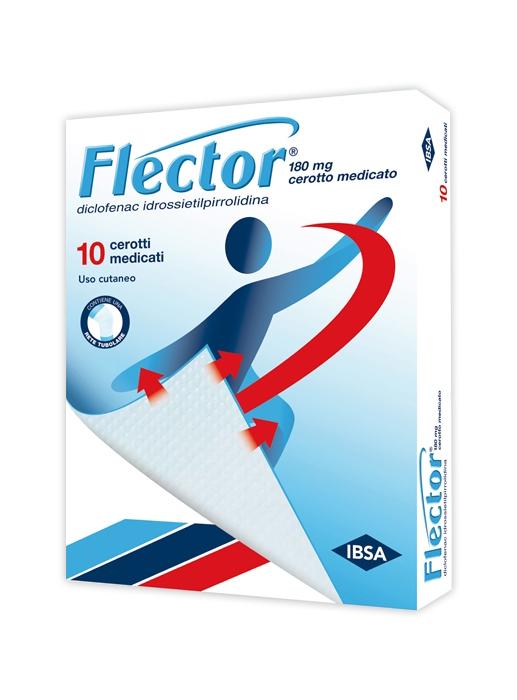 Flector 180 Mg Cerotto Medicato 10 Cerotti Medicati