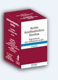 Acido Acetils Zen 1 G Polvere Per Soluzione Orale 20 Bustine