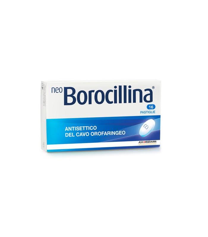 Neoborocillina 1,2 Mg + 20 Mg Pastiglie 16 Pastiglie In Blisterpvc-Pe-Pvdc/Al