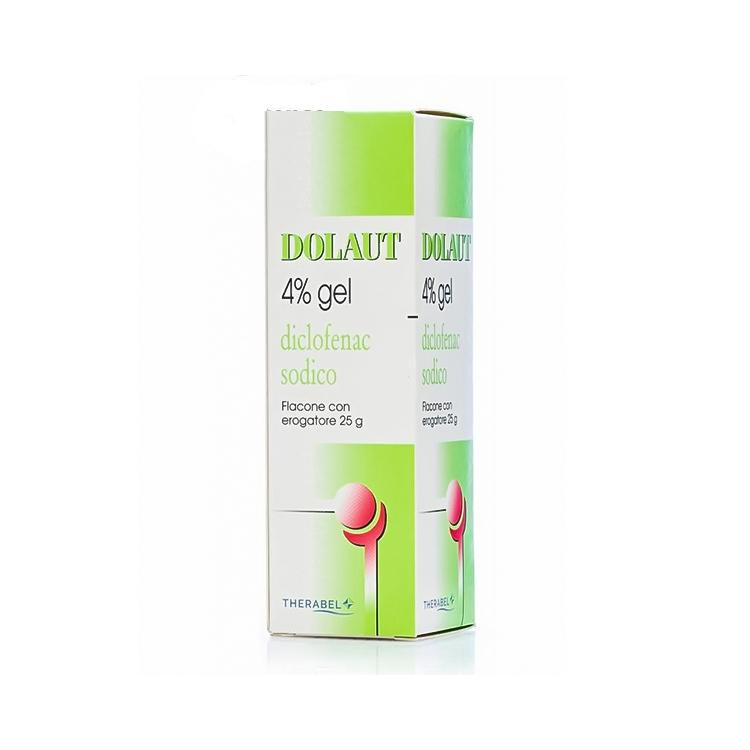 Dolaut 4% Gel Flacone Con Erogatore 25 G