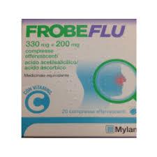 Frobeflu 330 Mg + 200 Mg Compresse Effervescenti 20 Compresse