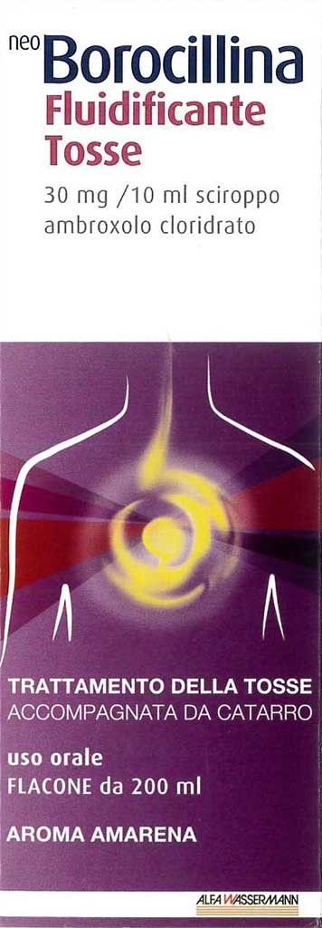 Neoborocil Fluid Tos 30 Mg/10 Ml Sciroppo Flacone 200 Ml