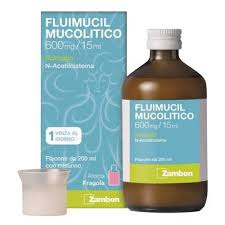 Fluimucil Mucol 600 Mg 15 Ml Sciroppo Flacone 200 Ml