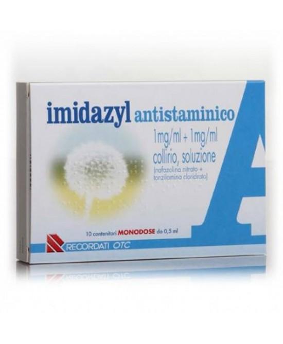 Imidazyl Antist 1 Mg/Ml + 1 Mg/Ml Collirio, Soluzione 10 Contenitori Monodose 0,5 Ml