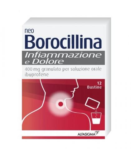 Neoboro Infiammaz E Dol 400 Mg Granulato Per Soluzione Orale 12 Bustine