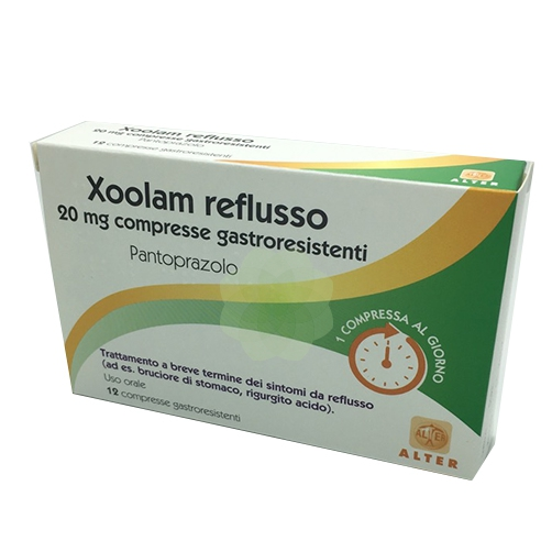 Xoolam Reflusso 20 Mg Compresse Gastroresistenti 12 Compresse In Blister Pa Al Pvc Al