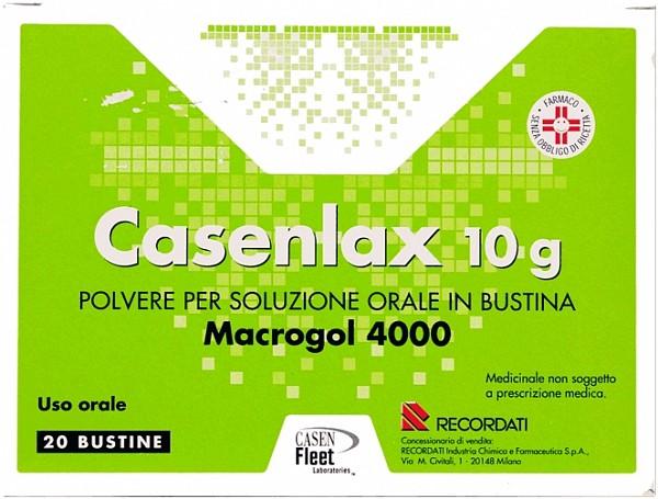 Casenlax 10 G Polvere Per Soluzione Orale 20 Bustine