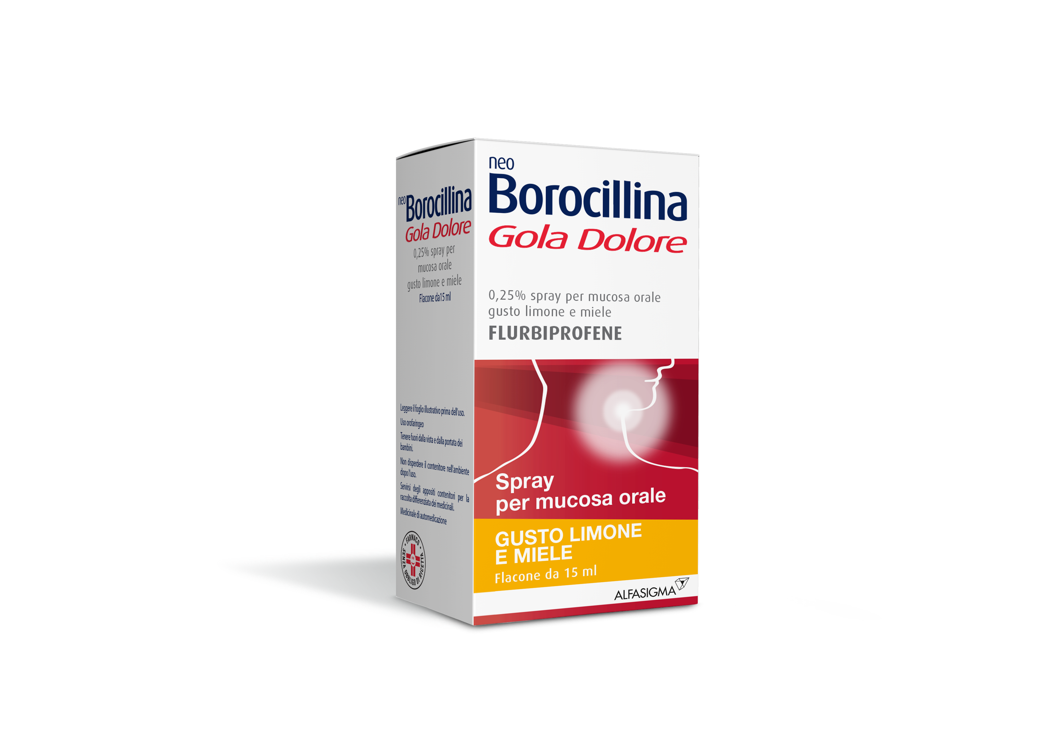Neoboro Golado 0 25 Spray Per Mucosa Orale 1 Flacone 15 Ml
