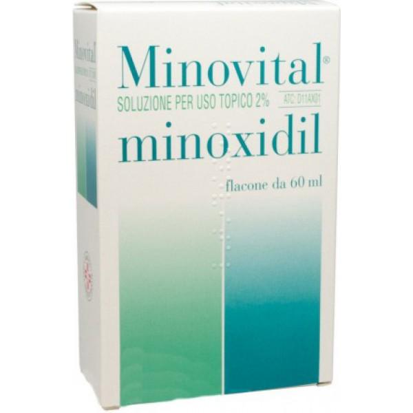 Minovital 2% Soluzione Cutanea Flacone 60Ml