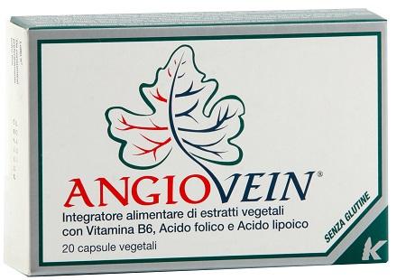 Piam Farmaceutici Angiovein 20 Capsule Gelatina