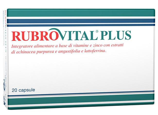 Piam Farmaceutici Rubrovital Plus 20 Capsule