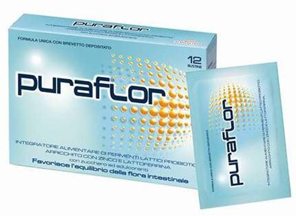 Pfizer Italia Div.consum.healt Puraflor 12 Bustine