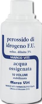 Marco Viti Farmaceutici Acqua Ossigenata 10 Volumi 3 200 G