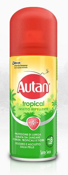 Sc Johnson Italy Autan Tropical Spray Secco 100 Ml