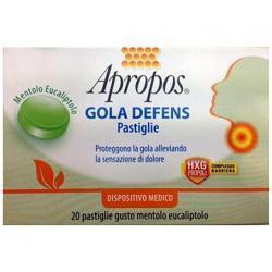 Desa Pharma Apropos Gola Defens Mentolo Eucaliptolo 20 Pastiglie