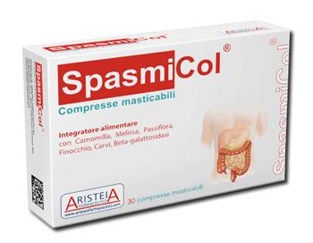 Aristeia Farmaceutici Spasmicol 30 Compresse Masticabili 500 Mg