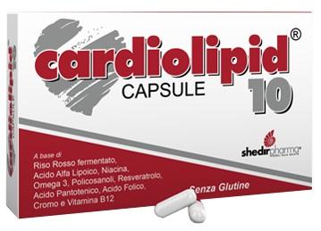 Shedir Pharma Unipersonale Cardiolipid 10 Capsule