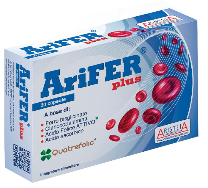 Aristeia Farmaceutici Arifer Plus 30 Capsule