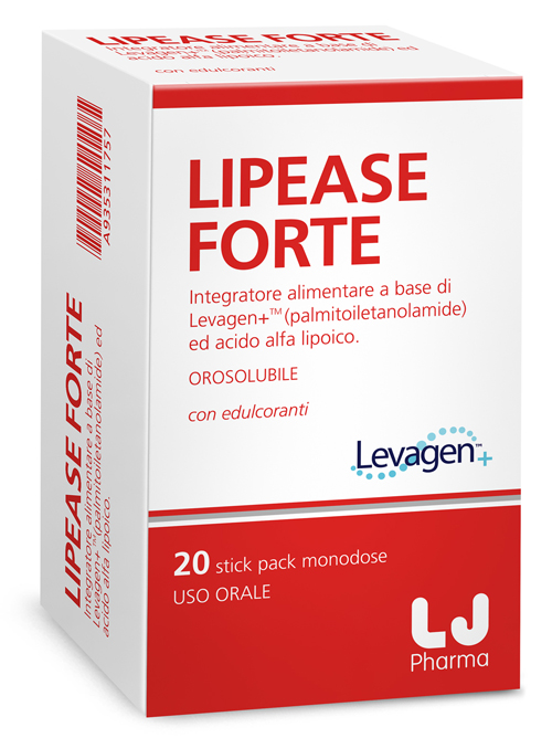 Lj Pharma Lipease Forte 20 Stick Pack Monodose
