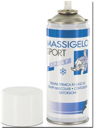 Ghiaccio Istantaneo Massigelo Sport Bomboletta Spray 400ml