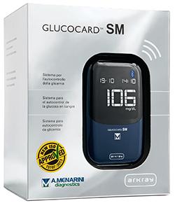 Glucocard Sm Meter Kit Misurazione Glicemia Uso Domiciliare