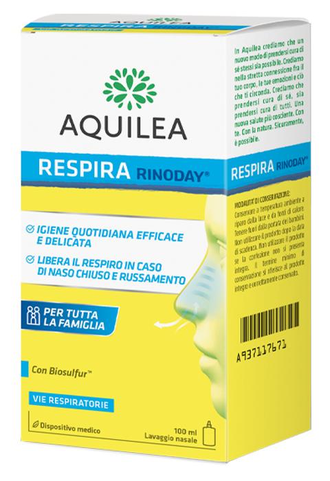 Uriach Italy Aquilea Flu Lavaggio Nasale 100 Ml