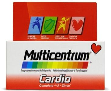 Pfizer Italia Div.consum.healt Multicentrum Cardio 60 Compresse