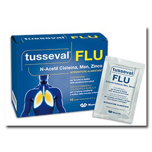 Marco Viti Farmaceutici Tusseval Flu 12 Bustine Solubili 60 G
