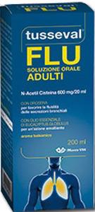 Marco Viti Farmaceutici Tusseval Soluzione Orale Adulti 200 Ml