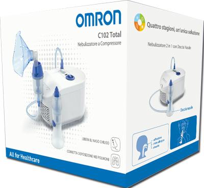 Corman Nebulizzatore A Pistone Omron C102 Total