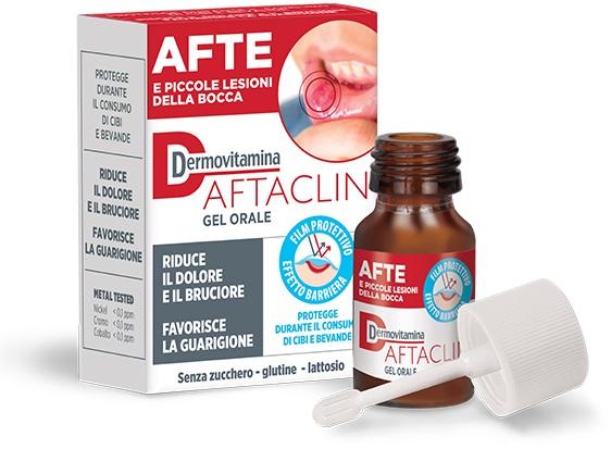 Pasquali Dermovitamina Aftaclin Gel 7 Ml