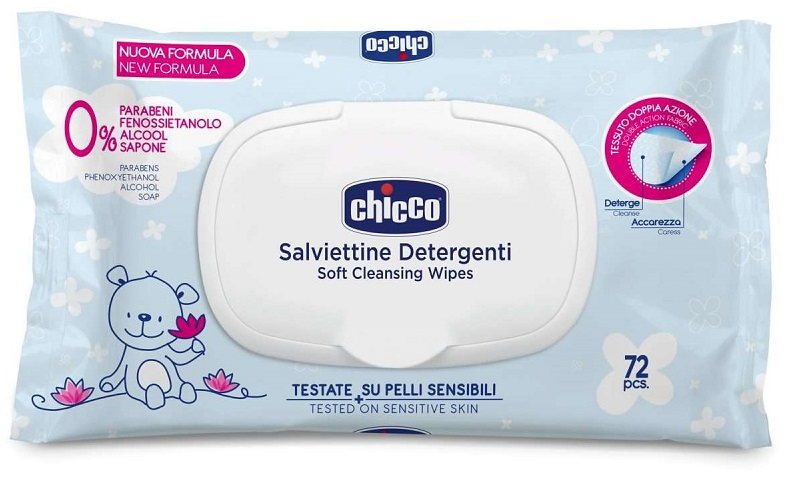 Chicco (artsana) Chicco Cosmesi Salviette 72 Pezzi Plaq