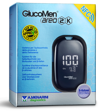 Strumento Glucomen Areo 2k Meter Set Per Monitoraggio Diabete