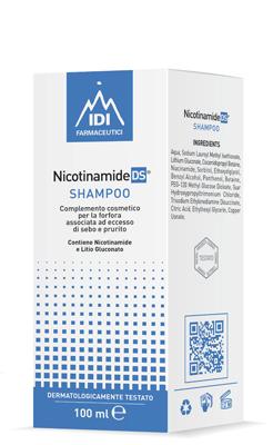 Idi Farmaceutici Nicotinamide Ds Shampoo Senza Profumo 100 Ml