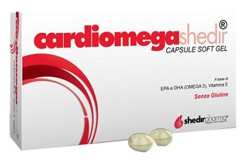 Shedir Pharma  Unipersonale Cardiomega Shedir 30 Capsule Molli 23,3 G