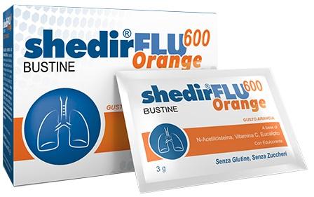 Shedir Pharma Unipersonale Shedirflu 600 Orange 20 Bustine