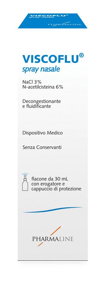 Pharma Line Viscoflu Spray Nasale 30 Ml