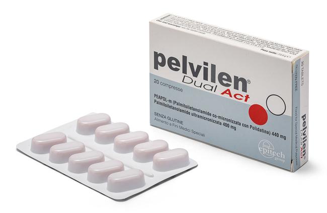 Epitech Group Pelvilen Dual Act 20 Compresse