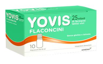 Alfasigma Yovis 10 Flaconcini Da 10 Ml Os