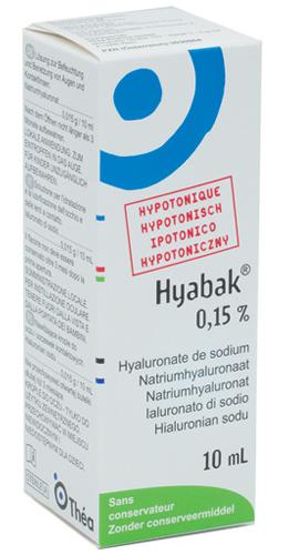 Farma 1000 Hyabak 0 15 Soluzione Oftalmica 10 Ml
