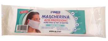 Montrasio Italia L unico Originale Mascherina In Tessuto Non Tessuto 14 Pezzi