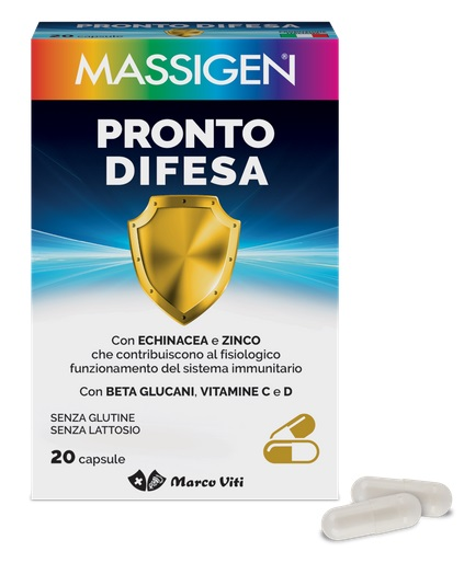 Marco Viti Farmaceutici Mass Pronto Difesa 20 Capsule