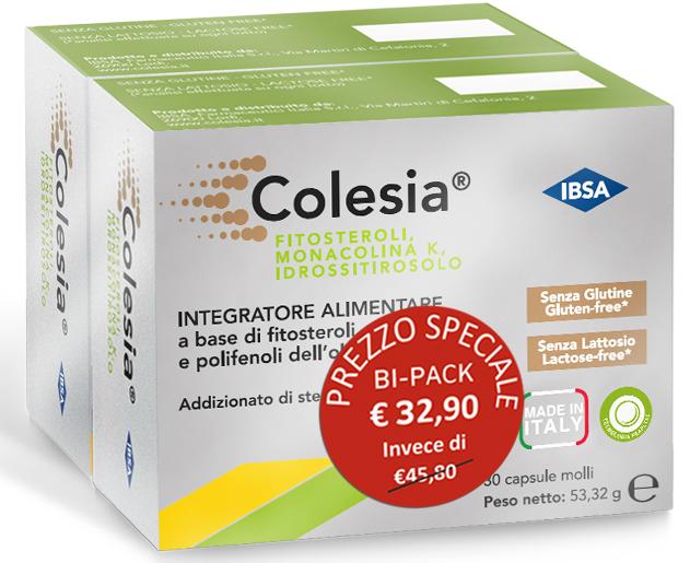 Ibsa Farmaceutici Italia Colesia 30 Capsule Molli Bipack