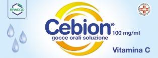 Cebion 100 Mg/Ml Gocce Orali, Soluzione Flacone 10 Ml