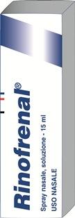 Rinofrenal 4% + 0,2% Spray Nasale, Soluzione 1 Flacone Nebulizzatore 15 Ml