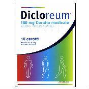 Dicloreum Ant Loc 180 Mg Cerotto Medicato, 10 Cerotti