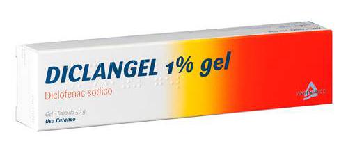 Diclangel 1% Gel Tubo Da 50 G